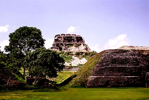 Mayan city of Xunantunich Belize